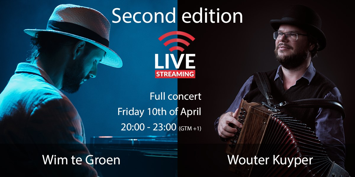Second edition - live ball with Wouter Kuyper and Wim te Groen