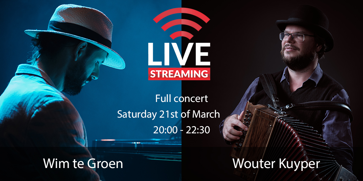 live stream ball with Wim te Groen and Wouter Kuyper